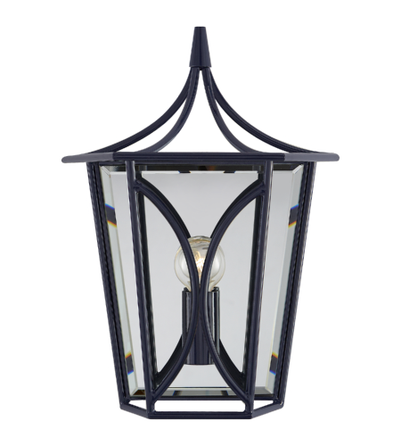 Visual Comfort KS 2144NVY kate spade new york Casual Cavanagh Mini Lantern Sconce in French Navy