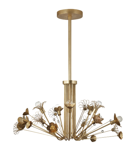 Shop for visual comfort ks 5038gm l kate spade new york modern visual comfort ks 5119g kate spade new york casual keaton large bouquet chandelier in gild aloadofball Images