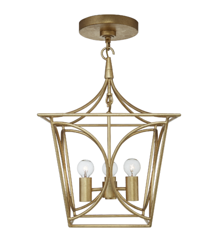 Visual Comfort KS 5143G kate spade new york Casual Cavanagh Mini Lantern in Gild