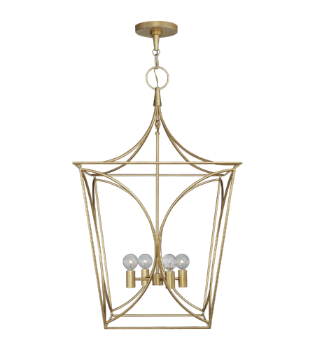 Visual Comfort KS 5145G kate spade new york Casual Cavanagh Medium Lantern in Gild