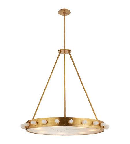 Launceton Ring Chandelier: Shop For Brass Burnished Chandelier Visual Comfort At