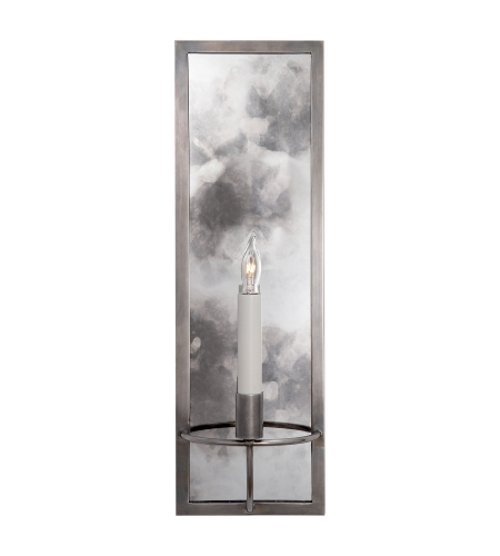 Visual Comfort NW 2115AN Niermann Weeks Traditional Regent Rectangular Sconce in Antique Nickel