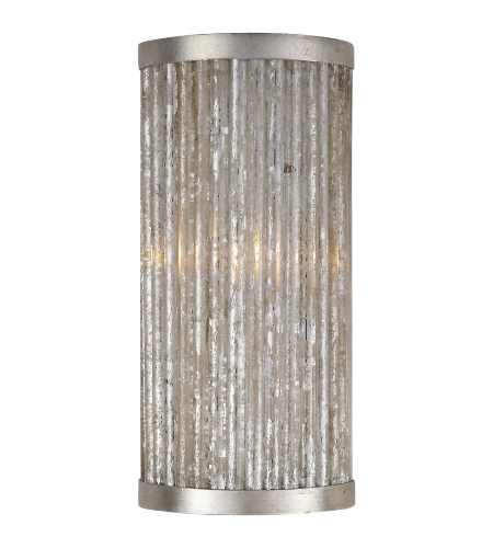 Visual Comfort NW 2220BSL Niermann Weeks Traditional Sophie Bath Sconce in Burnished Silver Leaf