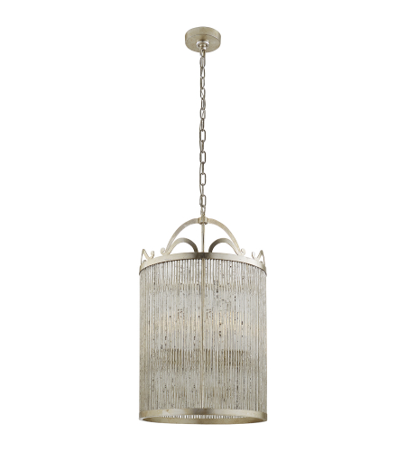 Visual Comfort NW 5025BSL Niermann Weeks Traditional Sophie Large Lantern in Burnished Silver Leaf