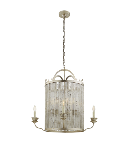 Visual Comfort NW 5026BSL Niermann Weeks Traditional Sophie Large Chandelier in Burnished Silver Leaf
