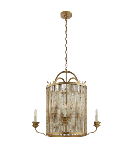 Visual Comfort NW 5026GI Niermann Weeks Traditional Sophie Large Chandelier in Gilded Iron