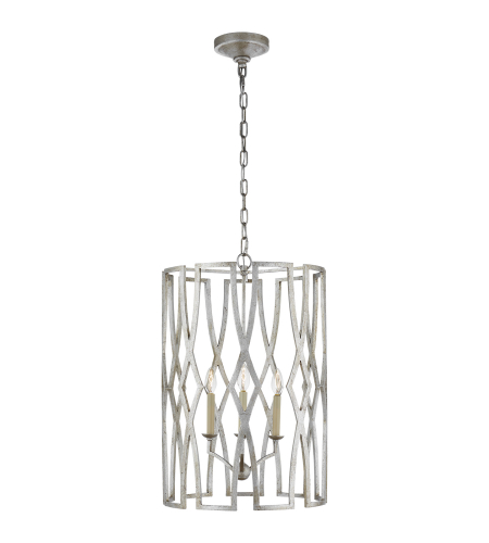 Visual Comfort NW 5111VS Niermann Weeks Traditional Brittany Medium Lantern in Venetian Silver
