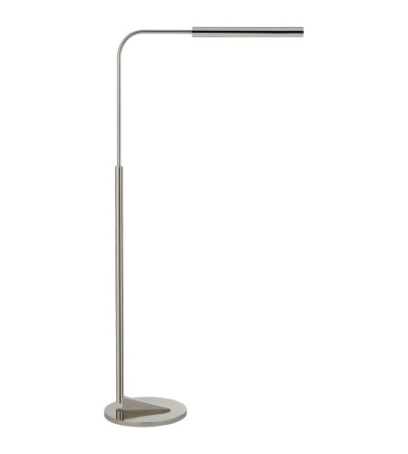 Visual Comfort S 1350PN Ian K. Fowler Modern Austin Adjustable Floor Lamp in Polished Nickel