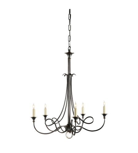 Visual Comfort SC 5015BZ Eric Cohler Casual Twist Chandelier in Bronze