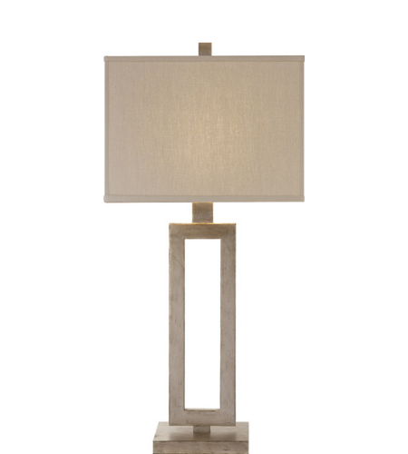 Visual Comfort SK 3208BSL L Suzanne Kasler Modern Mod Tall Table Lamp In  Burnished Silver