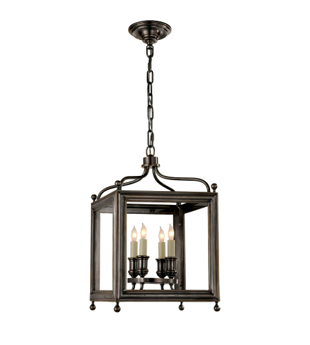 Visual Comfort SP 5001BZ J. Randall Powers Traditional Greggory Small Lantern in Bronze