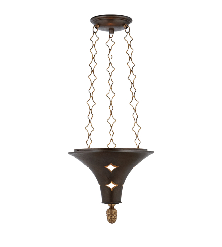 Visual Comfort SR 5101AI John Rosselli Traditional Callie Lantern in Aged Iron