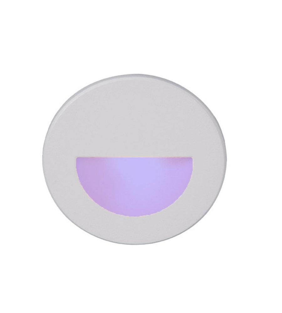 WAC Lighting LEDme Round Step and Wall Light WL-LED300-C-BZ Bronze