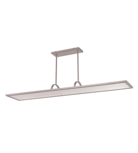 dweLED by WAC Lighting PD-51148-30-AL Line LED Chandelier 3000K in Brushed Aluminum