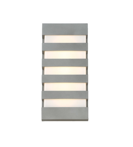 dweLED by WAC Lighting WS-W23614-GH Folsom 14in LED Outdoor Wall Light 3000K in Graphite