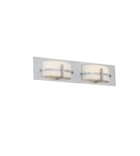 dweLED by WAC Lighting WS-21622-AL Compass 22in LED Bathroom Vanity & Wall Light 3000K in Brushed Aluminum