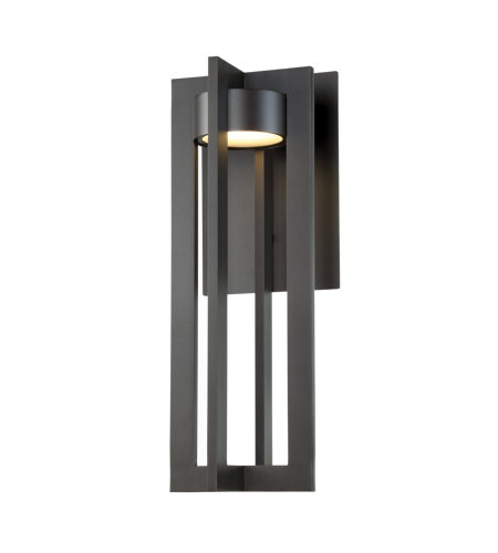 dweLED by WAC Lighting WS-W48620-BZ Chamber 20in LED Outdoor Wall Light 3000K in Bronze