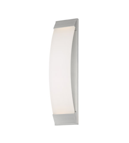 dweLED by WAC Lighting WS-W29724-AL Panorama 24in LED Outdoor Wall Light 3000K in Brushed Aluminum