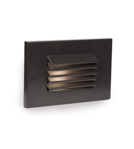 WAC Lighting WL-LED120-C-BZ LED Horizontal Louvered Step and Wall Light 120V 3000K in Bronze