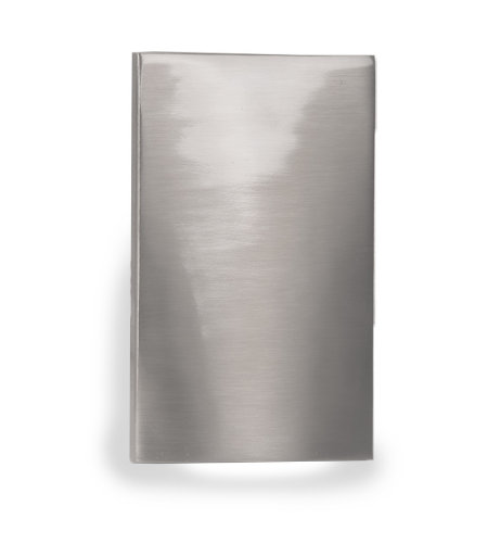 WAC Lighting WL-LED210F-C-BN LED Vertical Scoop Step and Wall Light 277V 3000K in Brushed Nickel