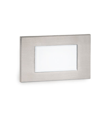WAC Lighting WL-LED130F-C-SS LED Diffused Step and Wall Light 277V 3000K in Stainless Steel