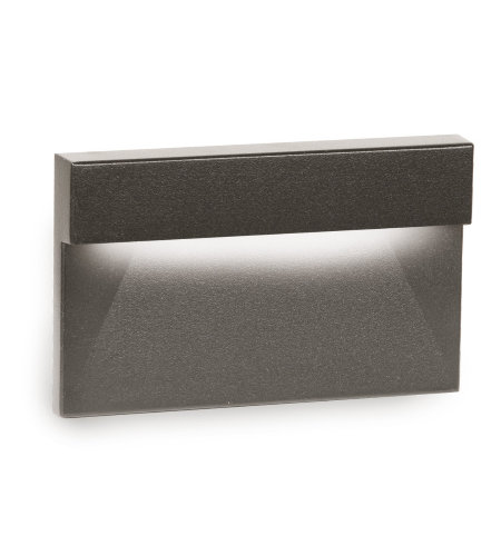 WAC Lighting WL-LED140F-AM-BZ LED Horizontal Ledge Step and Wall Light 277V Amber in Bronze