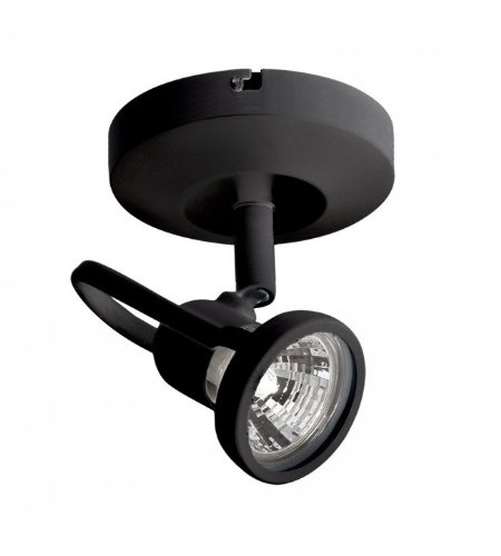 WAC Lighting ME-826-BK Monopoint 826 Spot Light in Black