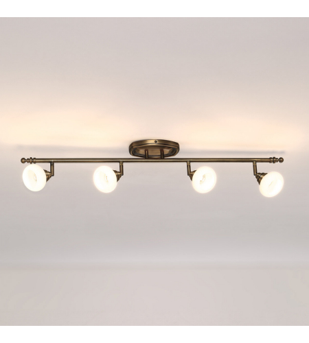 WAC Lighting TK-48536-BB Monterrey LED WAC dweLED LED Rail Kit in Burnished Brass