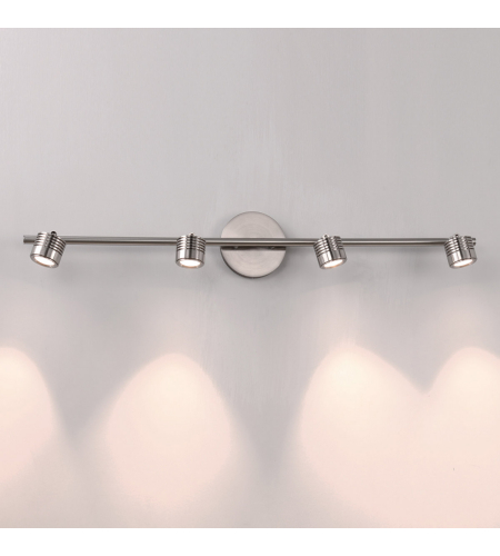 WAC Lighting TK-49534-BN Vector LED WAC dweLED LED Rail Kit in Brushed Nickel