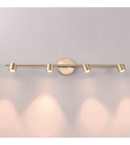 WAC Lighting TK-49534-BR Vector LED WAC dweLED LED Rail Kit in Brushed Brass