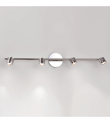 WAC Lighting TK-49534-CH Vector LED WAC dweLED LED Rail Kit in Chrome