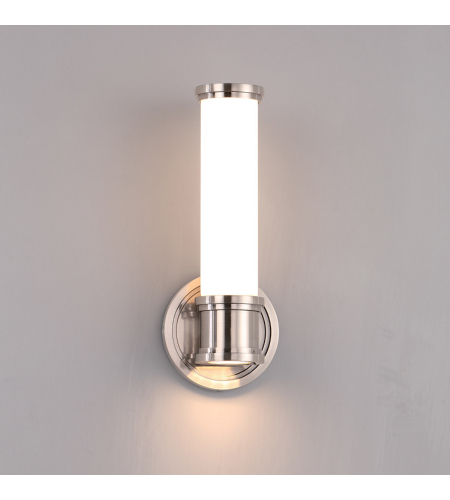 WAC Lighting WS-39513-AN Ashton LED WAC dweLED Wall Sconce in Antique Nickel