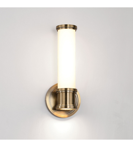 WAC Lighting WS-39513-BB Ashton LED WAC dweLED Wall Sconce in Burnished Brass