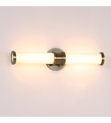 WAC Lighting WS-39522-BB Ashton LED WAC dweLED Wall Sconce in Burnished Brass
