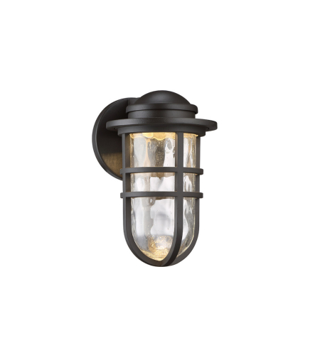 WAC Lighting WS-W24509-BZ Steampunk LED WAC dweLED LED Indoor/Outdoor Wall Sconce in Bronze