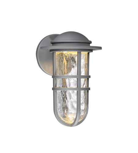 WAC Lighting WS-W24513-GH Steampunk LED WAC dweLED LED Indoor/Outdoor Wall Sconce in Graphite