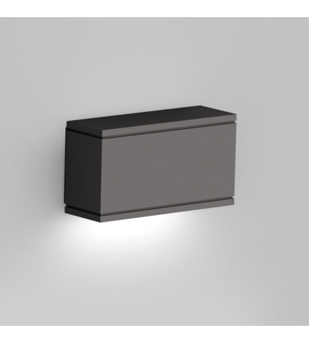 WAC Lighting WS-W2509-BK Rubix LED WAC dweLED LED Indoor/Outdoor Wall Sconce in Black