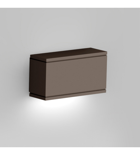 WAC Lighting WS-W2509-BZ Rubix LED WAC dweLED LED Indoor/Outdoor Wall Sconce in Bronze