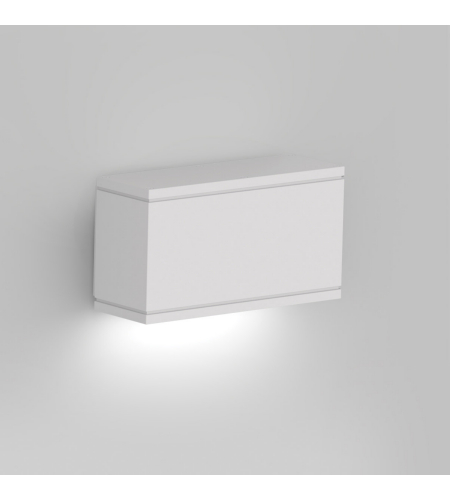 WAC Lighting WS-W2509-WT Rubix LED WAC dweLED LED Indoor/Outdoor Wall Sconce in White