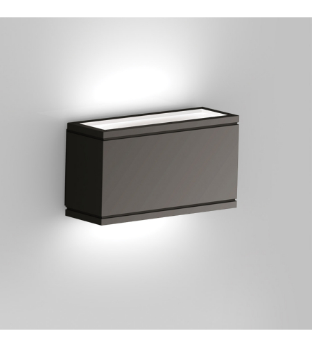WAC Lighting WS-W2510-BK Rubix LED WAC dweLED LED Indoor/Outdoor Wall Sconce in Black