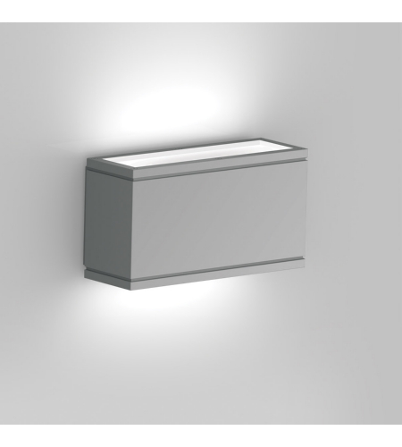 WAC Lighting WS-W2510-GH Rubix LED WAC dweLED LED Indoor/Outdoor Wall Sconce in Graphite