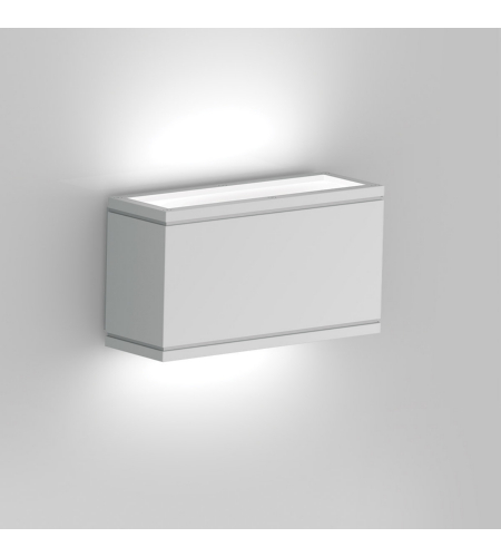 WAC Lighting WS-W2510-WT Rubix LED WAC dweLED LED Indoor/Outdoor Wall Sconce in White