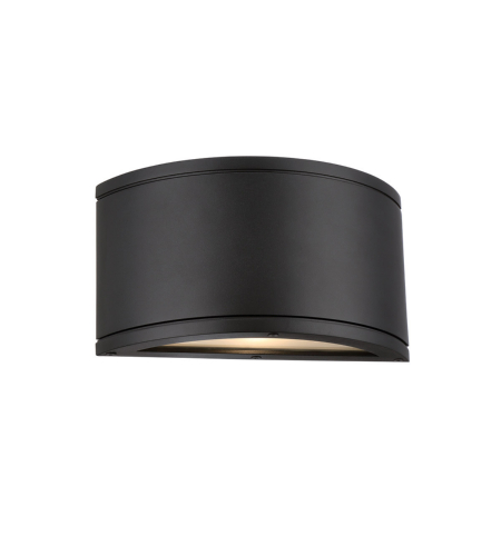WAC Lighting WS-W2609-BK Tube LED WAC dweLED LED Indoor/Outdoor Wall Sconce in Black