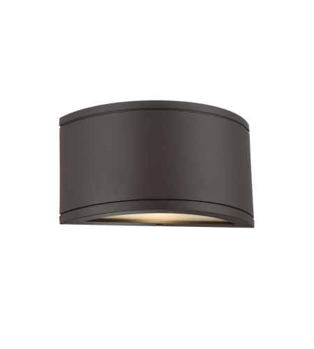 WAC Lighting WS-W2609-BZ Tube LED WAC dweLED LED Indoor/Outdoor Wall Sconce in Bronze
