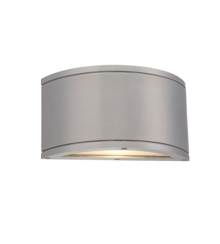WAC Lighting WS-W2610-AL Tube LED WAC dweLED LED Indoor/Outdoor Wall Sconce in Brushed Aluminum