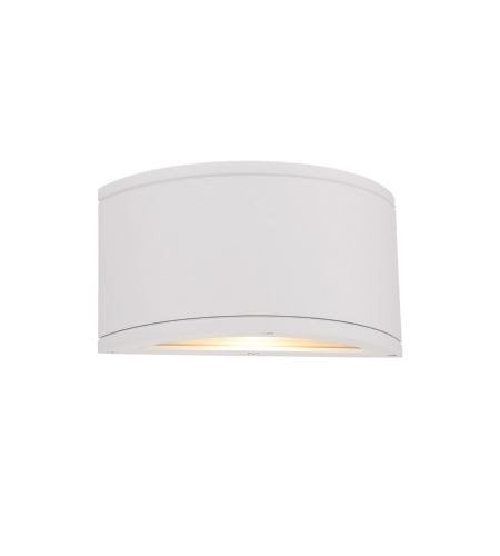 WAC Lighting WS-W2610-WT Tube LED WAC dweLED LED Indoor/Outdoor Wall Sconce in White