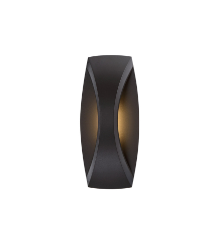 WAC Lighting WS-W26513-BZ Arch LED WAC dweLED Indoor/Outdoor Wall Sconce in Bronze