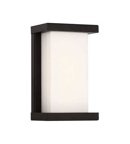 dweLED by WAC Lighting WS-W47809-BK Case 9in LED Outdoor Wall Sconce 3000K in Black