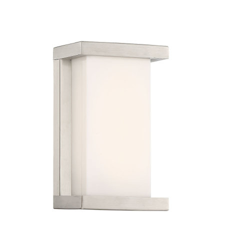 dweLED by WAC Lighting WS-W47809-SS Case 9in LED Outdoor Wall Sconce 3000K in Stainless Steel