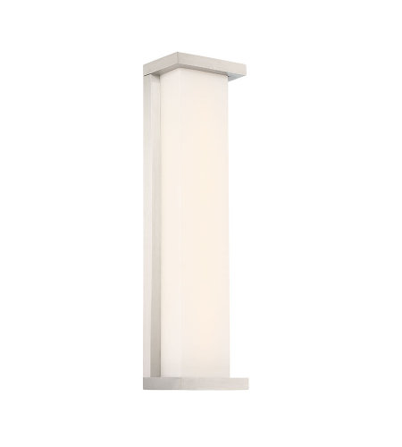 dweLED by WAC Lighting WS-W47820-SS Case 20in LED Outdoor Wall Sconce 3000K in Stainless Steel
